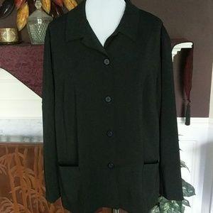 Black Dress Blouse/Jacket